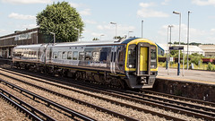 158890 (JOHN BRACE) Tags: 1992 brel derby built class 158 dmu 158890 1587814 seen eastleigh south western railway livery