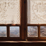 Old Window and Embroidery thumbnail