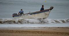 PESCADORES DE LA ANTILLA (HUELVA) (DAGM4) Tags: fisherman laantilla españa europa espagne europe espanha espagna espana espanya espainia spain spanien costadehuelva andalucía playasdelepe playasdehuelva 2018