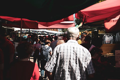 Market Day (ewitsoe) Tags: canoneos6dii city ewitsoe street warszawa erikwitsoe summer urban warsaw market move movement peopel crowds buy sunny warm saturday outdoors markets mrkt
