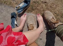 Feet!! (griffindor2009) Tags: fujifilmfinepixt550 blackcountrymuseum dudley blackcountry feet legs people blackcountryatwar blackcountrylivingmuseum