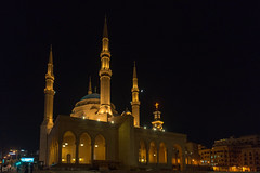 Mosque & Church (stefanos-) Tags: travelling middleeast lebanon backpacking arab beirut bayrut beirutgovernorate lb