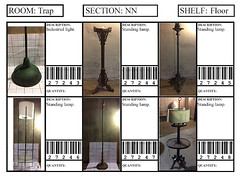 Floor - S1a (QCProps) Tags: 27243 27244 27245 27246 27247 27248 standing lamp industrial