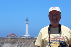 Scott at Point Arena Lighthouse, Northern California coast, July 2018 (Northwest Lovers) Tags: california highway1 northcoast