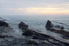 Wet Cornish Rocks (kernowrules) Tags: ifttt 500px coastline sea beach seascape horizon over water shore coastal feature surf coast rocky headland wave kernowrules ngc hcs