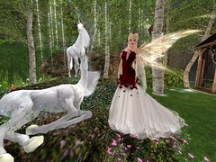 Fairy Godparent Friday - Evie's Closet (Faerie Godmother Designs) Tags: fancyfairy whimsical women ladies maidens firestorm secondlife faerie fairy godparent fantasy roleplay mesh gowns dresses accessories evies closet medieval