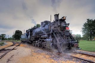Frisco 1630 Steam Engine