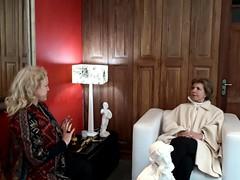14/06/18 - Visita ao jornal Diário Popular. Com a diretora Virgínia Ferrer.