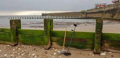Life's a beach (ttbeep) Tags: sandandsea seawall bridlingtonbeach groynes lifesabeach