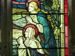 Church - Llandudno, Holy Trinity 180424 [Stained Glass Window 3e] (maljoe) Tags: church churches llandudno llandudnoholytrinity holytrinity stainedglass stainedglasswindow stainedglasswindows