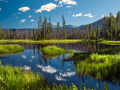 Tranquility (allagill) Tags: lake reflection nature landscape mountains summer outdoor colorado rockymountains ngc