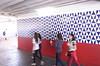 100 anos de Athos Bulcão (Senado Federal) Tags: bie escolapública ensinofundamental cruzeironovo centrodeensino cefab colégio athosbulcão aluno estudante parede criança adolescente movimentação azulejo obradearte 100anos brasília df brasil bra