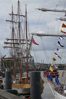 Tall Ships Regatta 2018, Bordeaux, Gironde, Nouvelle-Aquitaine, France.