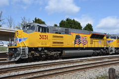 UP SD70AH-T4 3031 Pic 1 (tjtrainz) Tags: up union pacific emd electro motive division sd70aht4 tier 4 3031 roster shot brand new train locomotive engine