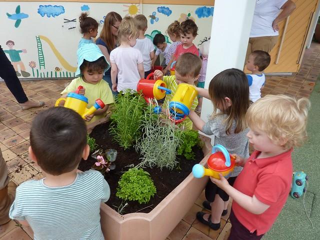 Photo 3 - Activité jardinage au multi-accueil