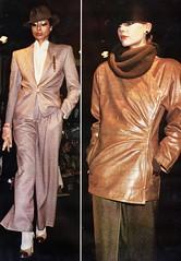 Giorgio Armani A:W 1979-80 (barbiescanner) Tags: vintage retro fashion vintagefashion 70s 70sfashions 1970s 1970sfashions 1979 away retrorunway armani vintagearmani