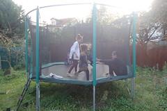 anniversaire 5 ans Enoé (redjoshuameg) Tags: gaël maëlys camille trampoline