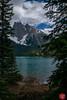 Peak-a-boo (Kasia Sokulska (KasiaBasic)) Tags: bc emerald lake rockies mountains spring landscape nature beauty yoho np canada fujix water forest