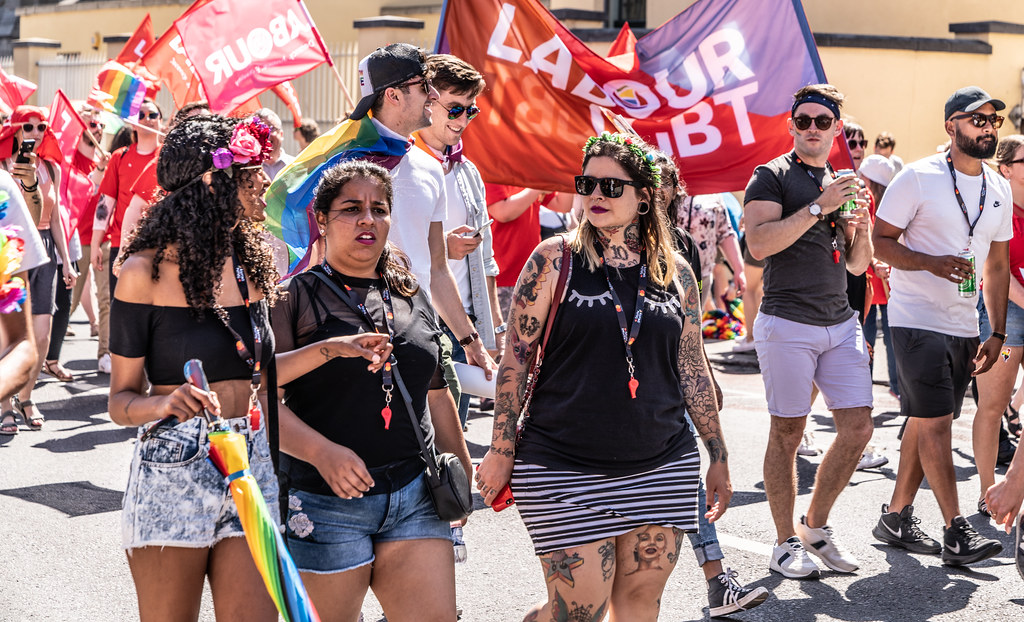 ABOUT SIXTY THOUSAND TOOK PART IN THE DUBLIN LGBTI+ PARADE TODAY[ SATURDAY 30 JUNE 2018] X-100211