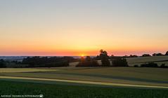 Sunset in the fields. (andreasheinrich) Tags: landscape fields summer evening sunset june warm colorful germany badenwürttemberg neckarsulm dahenfeld deutschland landschaft felder sommer abend sonnenuntergang juni farbenfroh nikond7000