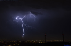 2018.06.21 - 001250 (NIKON D7200) [Carvalha] (Nuno F. C. Batista) Tags: clouds nuvens portugal lusoskies lightning relâmpago thunderstorm trovoada storm night sky nikon severeweather storms photography margemsul skies portuguese meteorology cumulunimbus d7200 arrudadosvinhos carvalha