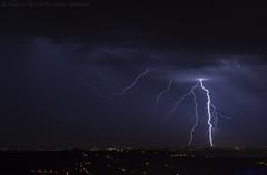 2018.06.20 - 231724 (NIKON D7200) [Carvalha] (Nuno F. C. Batista) Tags: clouds nuvens portugal lusoskies lightning relâmpago thunderstorm trovoada storm night sky nikon severeweather storms photography margemsul skies portuguese meteorology cumulunimbus d7200 arrudadosvinhos carvalha