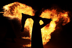 Fire wings (marcosmallred) Tags: fire fuoco fiamme perugia perugia1416 italy italia italie italien umbria umbrien medioevo medieval medioevale rievocazione