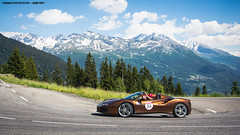 Chocolate (Gaetan | www.carbonphoto.fr) Tags: ferrari 488 spider 70th anniversary 70livery livery ferrari70 cavalcade cavalcade2018 ferraricavalcade french alps supercars hypercars cars coche auto automotive fast speed exotic luxury great incredible worldcars carbonphoto