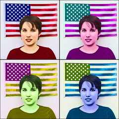 Born On The Forth Of July (Rodrick Dale) Tags: born on the forth of july andy warhol america flag portrait