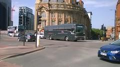 Atlantic Travel YJ04BKK 26052018 (Rossendalian2013) Tags: bus coach atlantictravel railreplacement manchester victoria station northern arrivarailnorth daf sb4000 vanhool yj04bkk geldardscoachesleeds