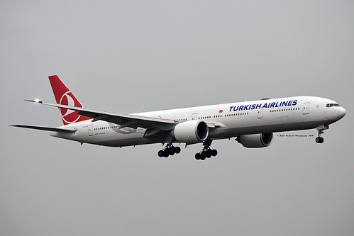 Turkish Airlines TC-LKA Boeing 777-36NER cn/41818-1140 Leased from Kenya Airways @ EGLL / LHR 26-05-2018