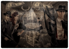 The Clubroom (brian_stoddart) Tags: gangsters money smoky bar tone