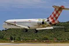 JSI/LGSK: Volotea Boeing B717-2BL EI-FGH (Roland C.) Tags: jsi lgsk skiathos airport greece volotea boeing b717 b717200 md95 eifgh aircraft airplane airliner aviation