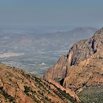 Looking Beyond The Window to Rugged Terrain and Mountain Peaks (Big Bend National Park) thumbnail