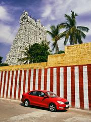 Ka Na 4767 (Prabhu B Doss) Tags: skoda rapid prabhubdoss car suchindram tamilnadu temple kanyakumari