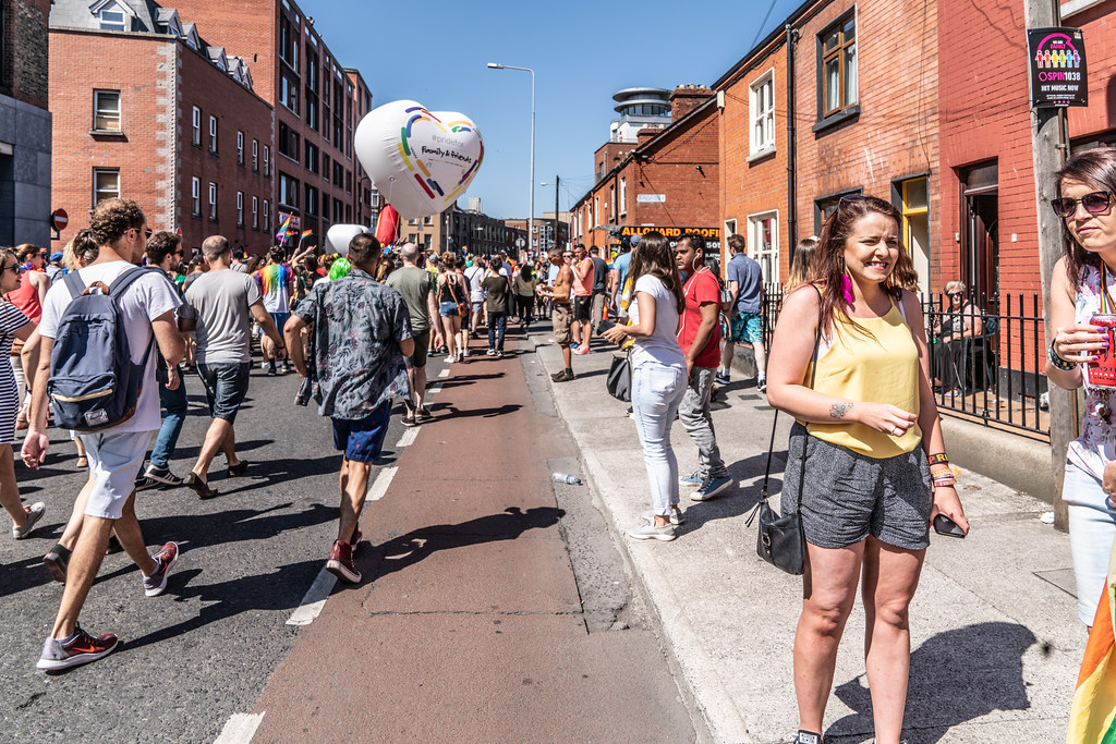 ABOUT SIXTY THOUSAND TOOK PART IN THE DUBLIN LGBTI+ PARADE TODAY[ SATURDAY 30 JUNE 2018] X-100176