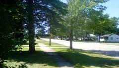 Lovely summer day! -TMT (Maenette1) Tags: summer trees street neighborhood menominee uppermichigan treemendoustuesday flicker365 allthingsmichigan absolutemichigan projectmichigan amazonfirehdcamera
