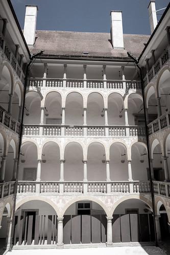 Castle Hartheim, Court