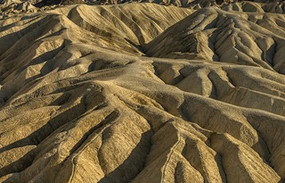 *Zabriskie Point Badlands @ Golden Hour*