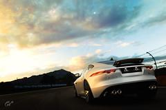 F-Type trackday (m i n i t e k) Tags: jaguar f type r v8 supercar sportscar car racetrack circuit racing trackday automobile sunset sky road
