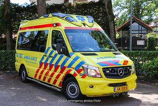 Dutch ambulance Mercedes Sprinter