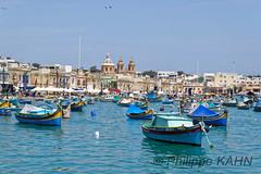Malte 1068_DxO (kahnhp) Tags: bâteau marsaxlokk malte mlt
