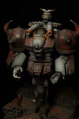 Junk Bot: Weasel Zappa (jaqio) Tags: gundam model kit custom art paint photo canon hobby action figure toy apan