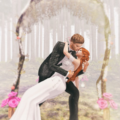 🍎 Dreams vs Fairy Tales (Apple aka Ossia) Tags: belleza catwa truth blueberry david heather lelutka vetro yd skye scots secondlife second life sl blogger blogging blog photography photograph photoshop ps portrait couple wedding flowers fantasy cute fun gorgeous forest romantic redhead ginger freckles blonde man male dress suit tuxedo archway ceremony