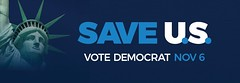 SAVE U.S. - Banner - Bumper Sticker Design - Take 3 (hmdavid) Tags: savetheunitedstates saveus democrats republicans independents voters vote midterms november 2018 democrat democracy savedemocracy banner bumpersticker design slogan
