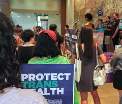2018.07.17 #ProtectTransHealth Rally, Washington, DC USA 04696