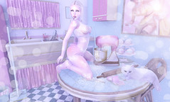 I didn't know that I was starving till I tasted you... (LuShes Blessed) Tags: rld red light district event amsterdam lushes blessed sl secondlife second life messy kitchen flour baking kawaii cute babygirl