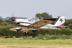 G-CFEE Evektor-Aerotechnik EV-97 Eurostar (amisbk196) Tags: 2018 airfield aircraft aviation amis flickr unitedkingdom headcorn kent uk lashenden gcfee evektoraerotechnik ev97 eurostar