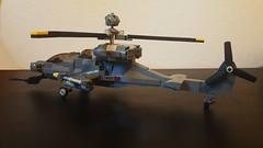 """AH-74 """"Kestrel"""" (johnfromcoke) Tags: lego military helicopter gunship"""