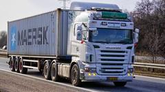 BL51651 (18.03.19, Motorvej 501, Viby J)DSC_3730_Balancer (Lav Ulv) Tags: hvidovretransport perhenriksen r620 v8 highline 2008 euro4 e4 r5 scania rseries pgrseries scaniarseries white container maersk 6x2 truck truckphoto truckspotter traffic trafik verkehr cabover street road strasse vej commercialvehicles erhvervskøretøjer danmark denmark dänemark danishhauliers danskefirmaer danskevognmænd vehicle køretøj aarhus lkw lastbil lastvogn camion vehicule coe danemark danimarca lorry autocarra motorway autobahn motorvej vibyj highway hiway autostrada trækker hauler zugmaschine tractorunit tractor artic articulated semi sattelzug auflieger trailer sattelschlepper